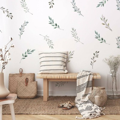 Country Leaves Peel and Stick Wall Decal - RoomMates