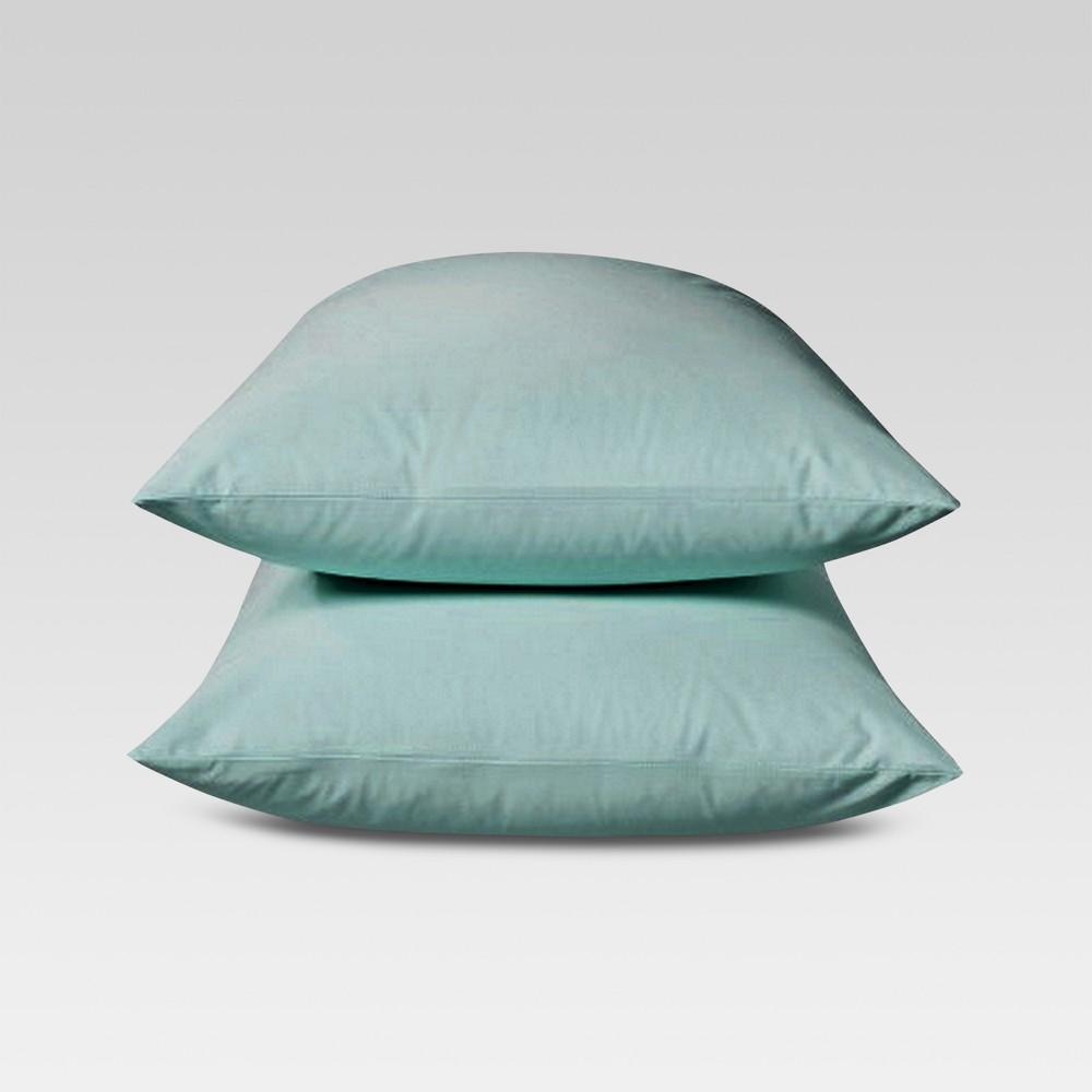 Ultra Soft Pillowcase Set (King) Ancient Aqua 300 Thread Count - Threshold