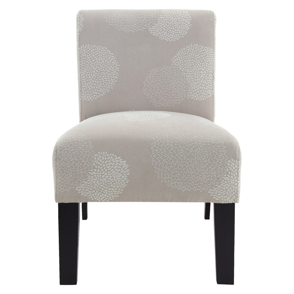 Image of Sunflower Deco Accent Chair Ivory - DHI