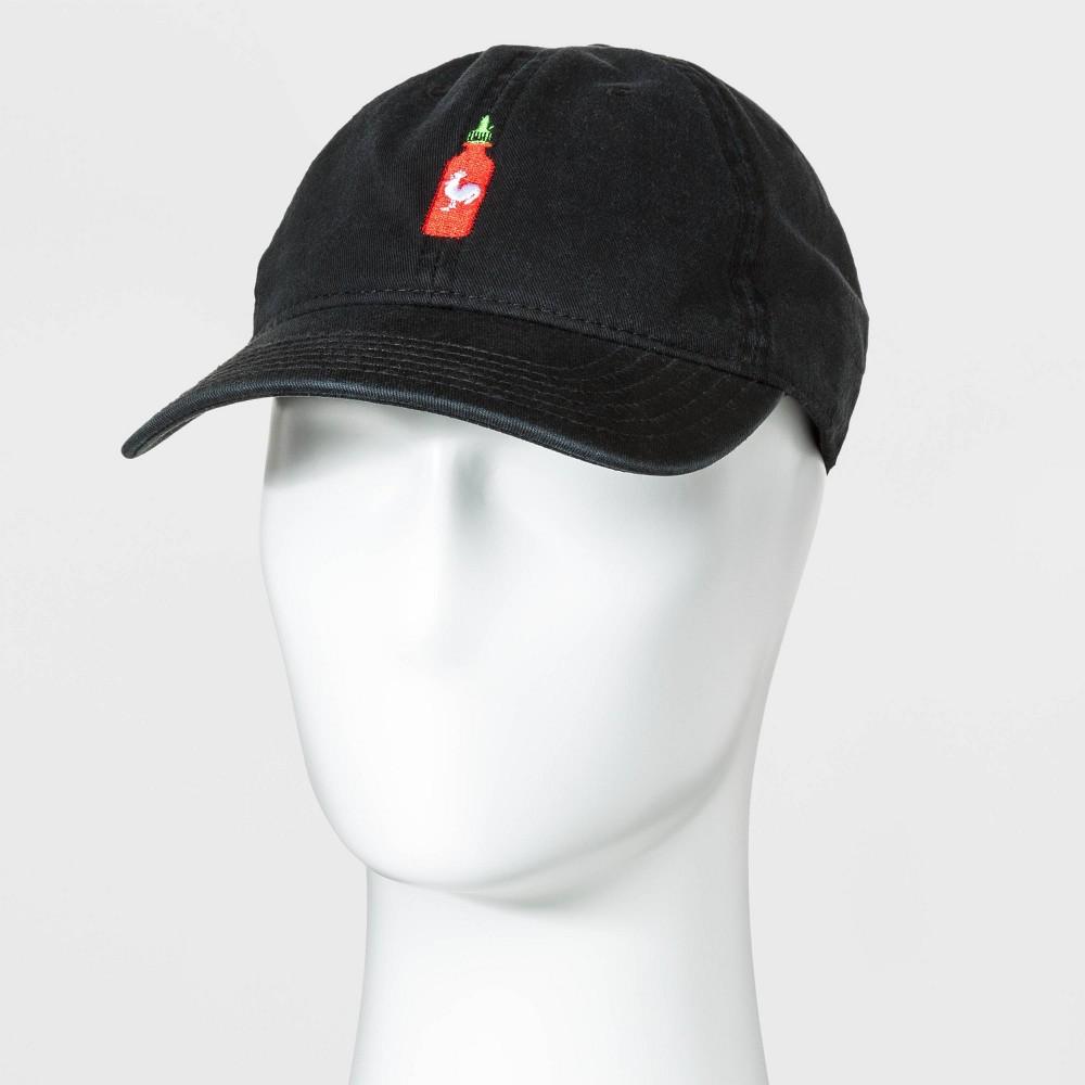 Image of Men's Siracha Baseball Cap - Black One Size, Men's