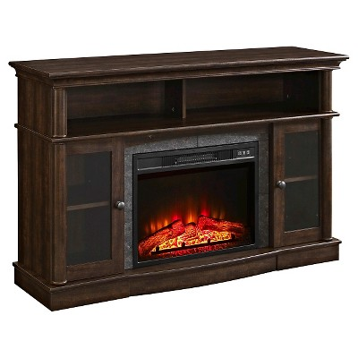 Whalen® Media Electric Fireplace Console 54  - Brown Cherry