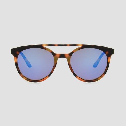 Kids' Tortoise Shape Sunglasses - Cat & Jack™ Black/Brown - image 1 of 3