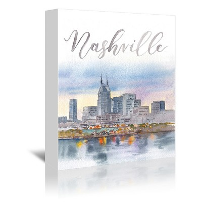 Americanflat Nashville by Cami Monet Wrapped Canvas