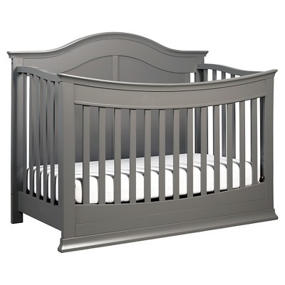 DaVinci Meadow 4-in-1 Convertible Crib with Toddler Rail - Slate