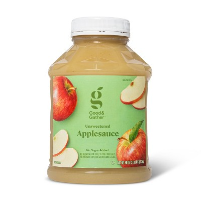 Unsweetened Applesauce Jar - 46oz - Good & Gather™