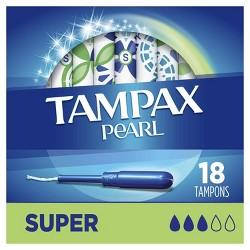 Tampax Pearl Super Absorbency Tampons