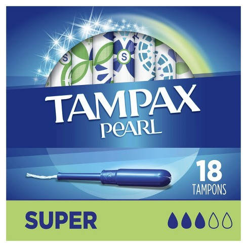 Tampax Pearl Super Absorbency Tampons - image 1 of 4