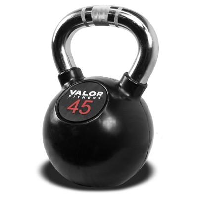 Valor Fitness CKB-45 Chrome Kettlebell - 45lb