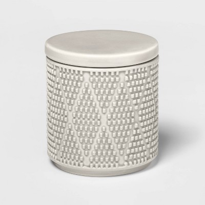 Canby Ceramic Canister Gray - Threshold™
