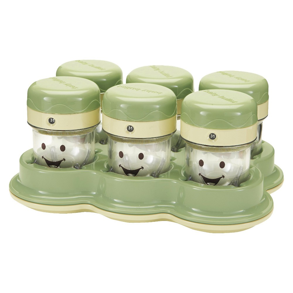 Image of Baby Bullet Storage System, Green