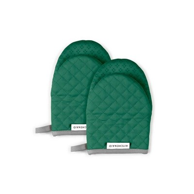 KitchenAid 2pk Cotton Asteroid Mini Oven Mitts