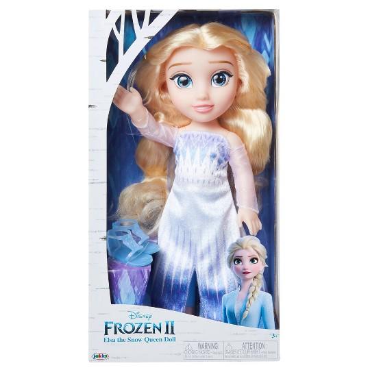 Disney Frozen 2 Elsa the Snow Queen Doll image number null