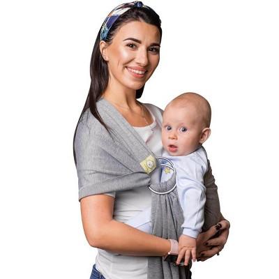KeaBabies Baby Wrap Ring Sling Ergo Carrier