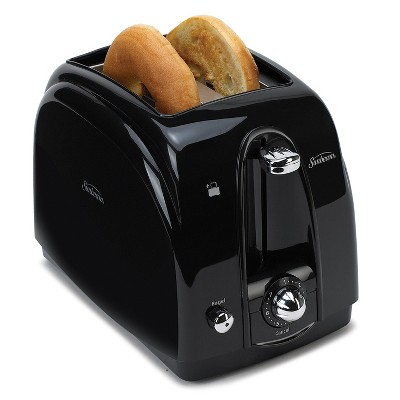 Sunbeam 2 Slice Wide-Slot Toaster - Black TSSBTR2SBP