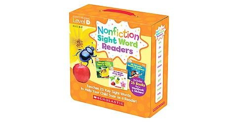 Nonfiction Sight Word Readers Level D, Ages 3-7 : Teaches 25 Key Sight Words to Help Your Child Soar As - image 1 of 1