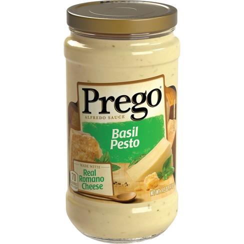Prego Basil Pesto Alfredo Sauce 14.5 oz - image 1 of 4