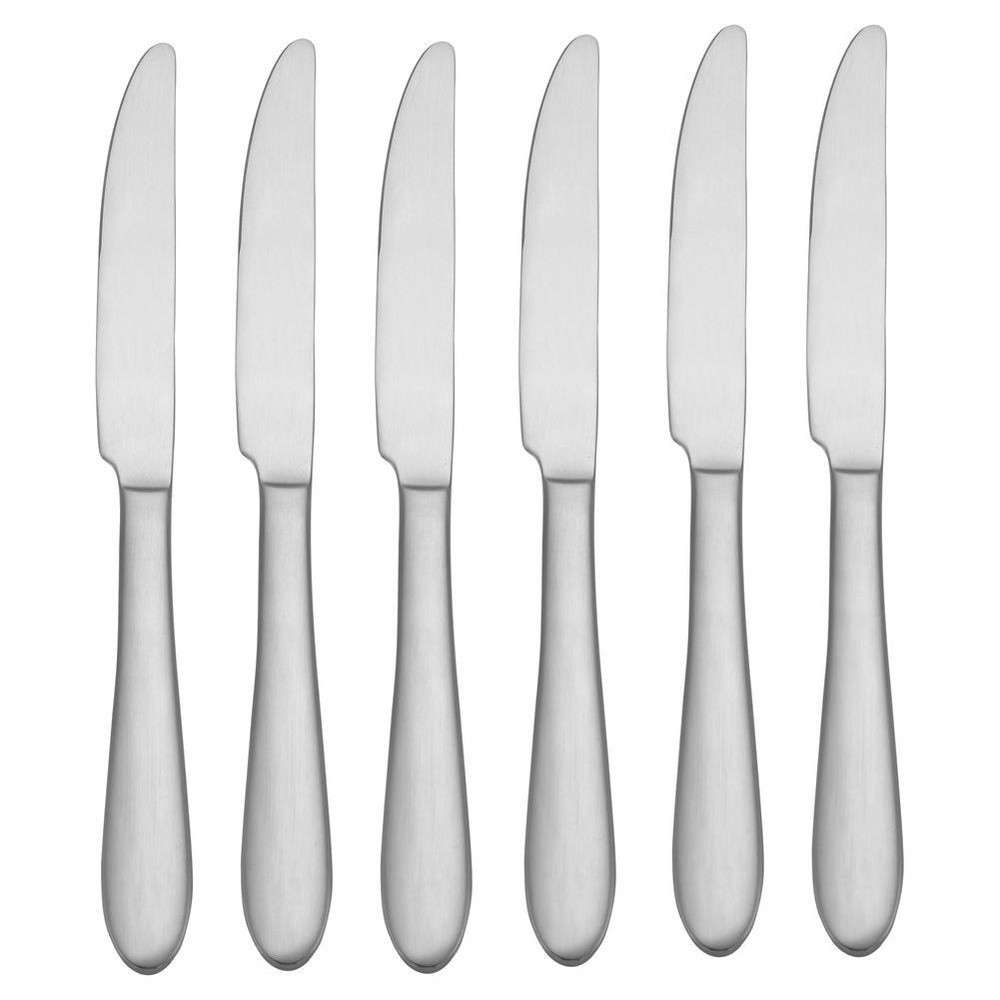 Image of Oneida Vale Dinner Knives - Set of 6, Silver