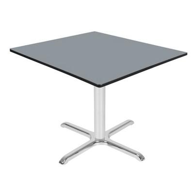 """42"""" Via Square X-Base Table - Regency"""