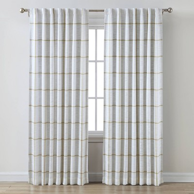 Blackout Window Curtain Panel Gold - Threshold™