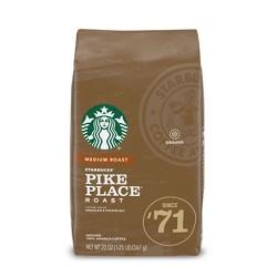 Starbucks Pike Place Roast Medium Roast Ground Coffee - 20oz