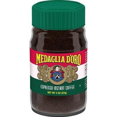 Medaglia D'Oro Espresso Instant Dark Roast Coffee - 2oz