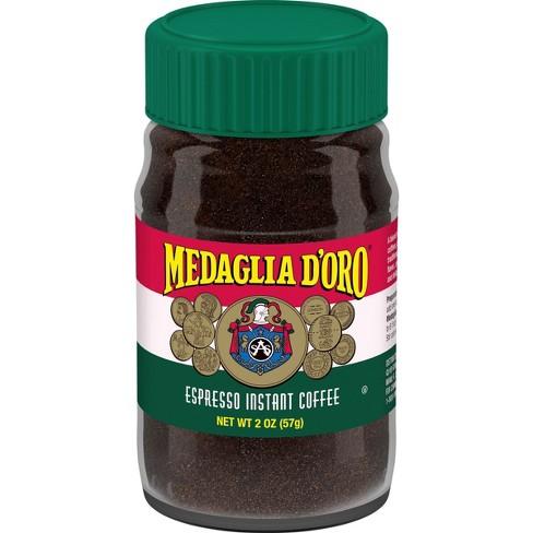 Medaglia D'Oro Espresso Instant Dark Roast Coffee - 2oz : Target