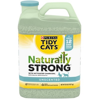 Tidy Cats Naturally Strong Clumping Cat Litter