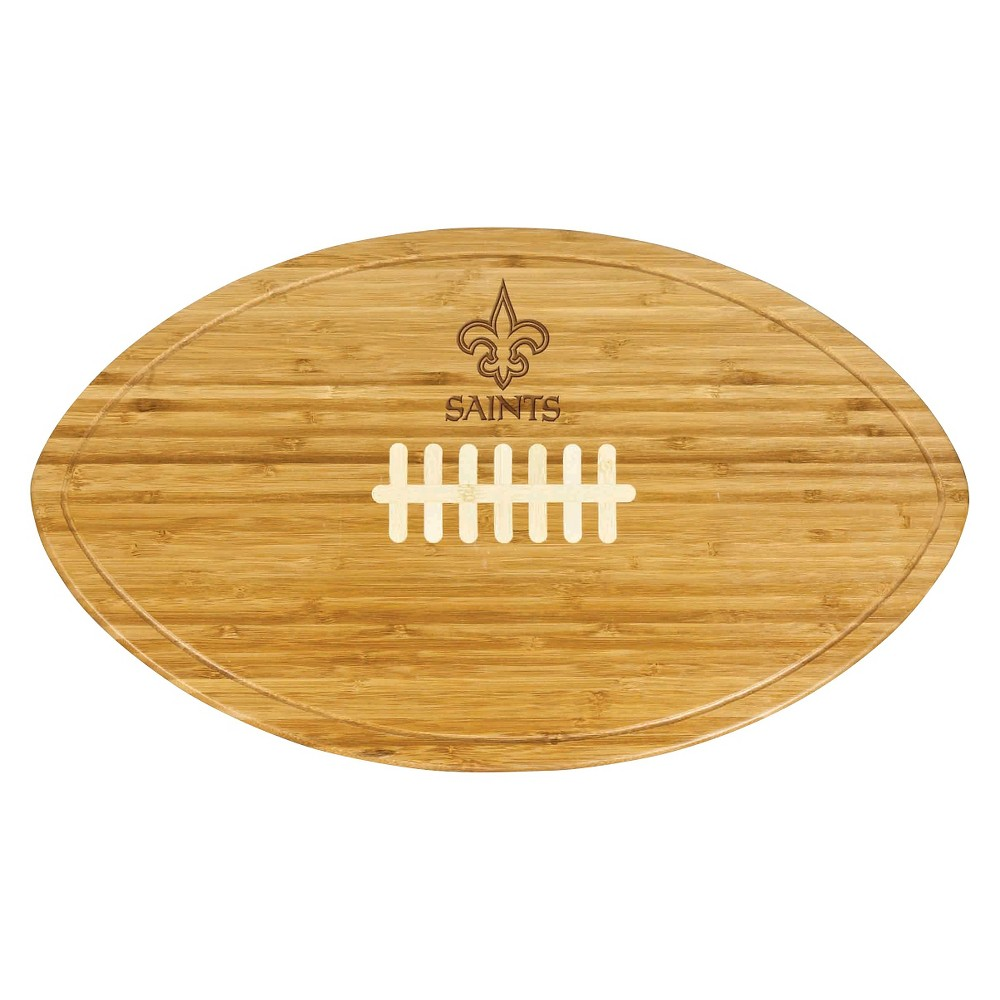 New Orleans Saints - Kickoff Bamboo Cutting Board/Serving Tray by Picnic Time
