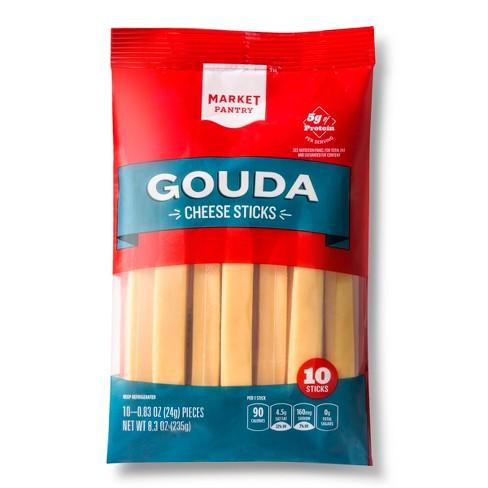 Gouda Cheese Sticks - 10oz/10ct - Market Pantry™ - image 1 of 1