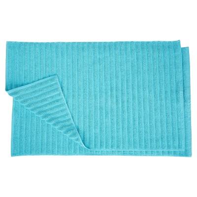 Eco-Friendly Cotton 2-Piece Bath Mat Set by Blue Nile Mills