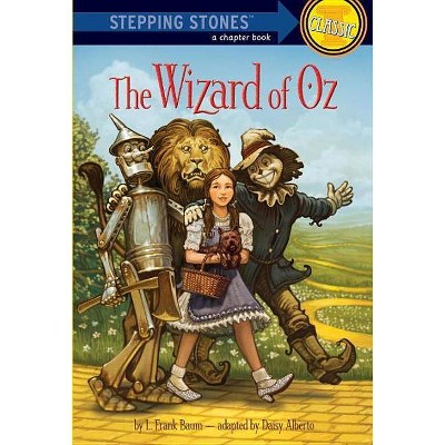 The Wizard of Oz - (Stepping Stone Book(tm)) by  L Frank Baum (Paperback)