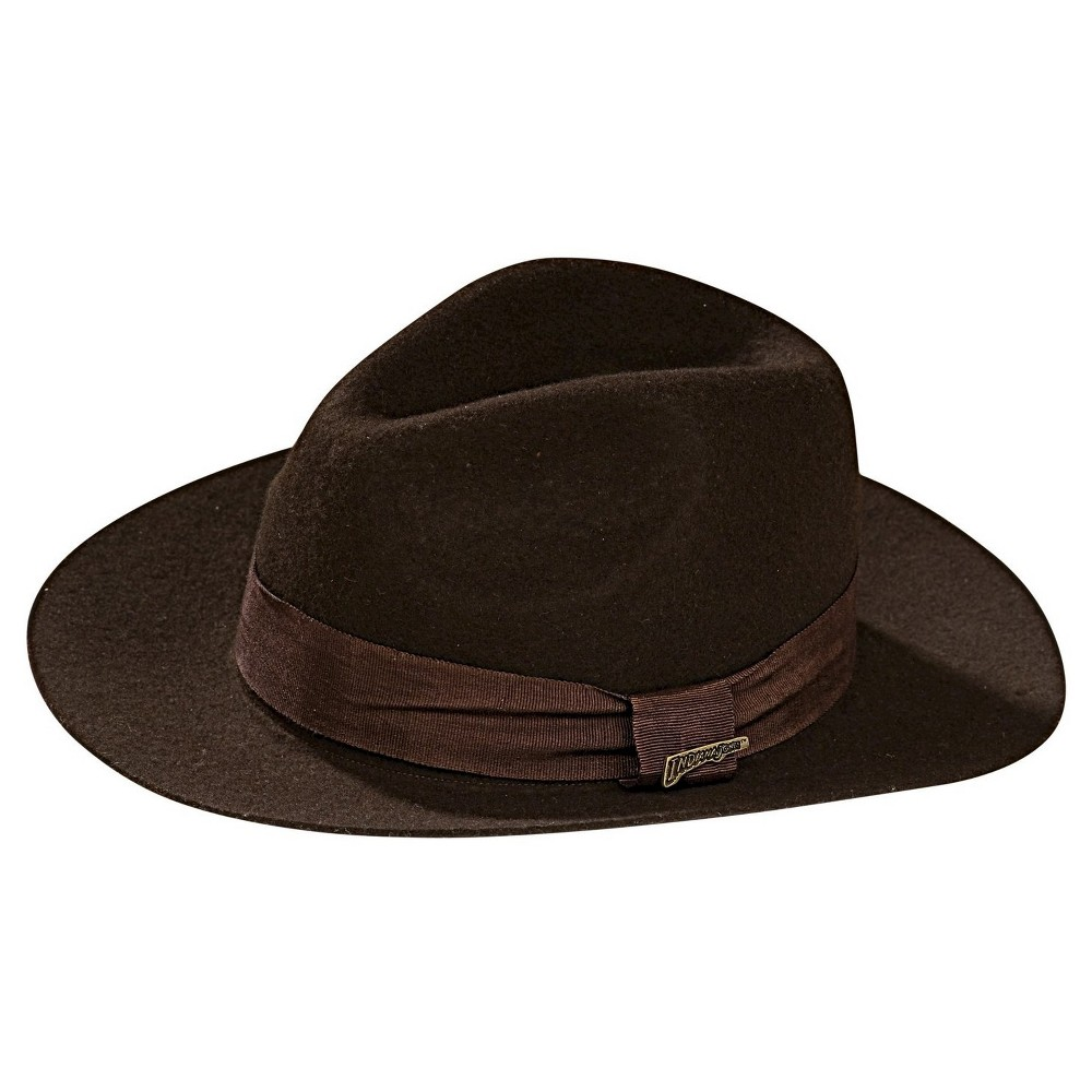 Halloween Indiana Jones Deluxe Hat Brown, Men's