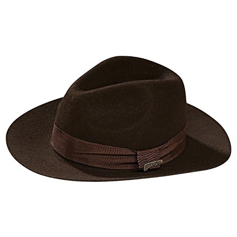 2482e27b Halloween Indiana Jones Deluxe Hat Brown : Target