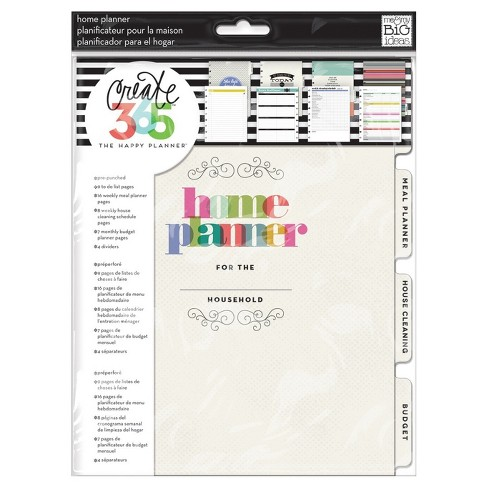 "Create 365 Planner Extension Pages Household-Multicolor 9.25""x7.5"" - image 1 of 1"