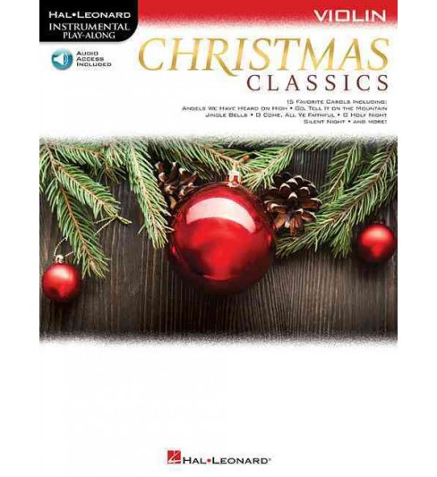 Christmas Classics Violin : With Downloadable Audio (Paperback) - image 1 of 1