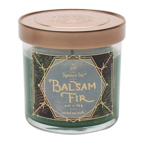 4oz Lidded Glass Jar Candle Balsam Fir - Signature Soy - image 1 of 1