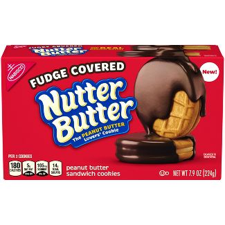 Nutter Butter Fudge Dipped Peanut Butter Cookies - 7.9oz