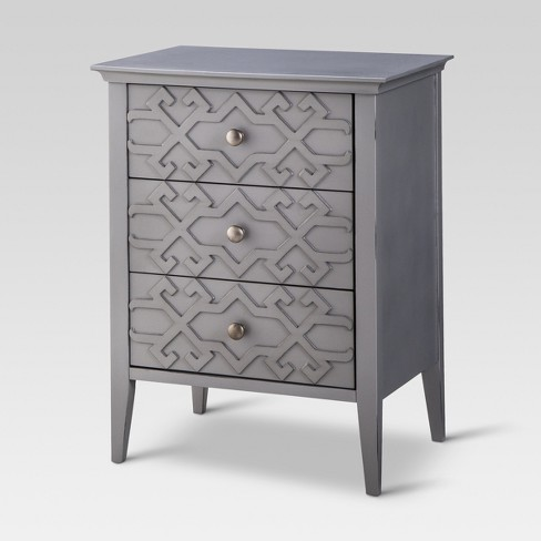 Fretwork Accent Table - Threshold™ - image 1 of 4