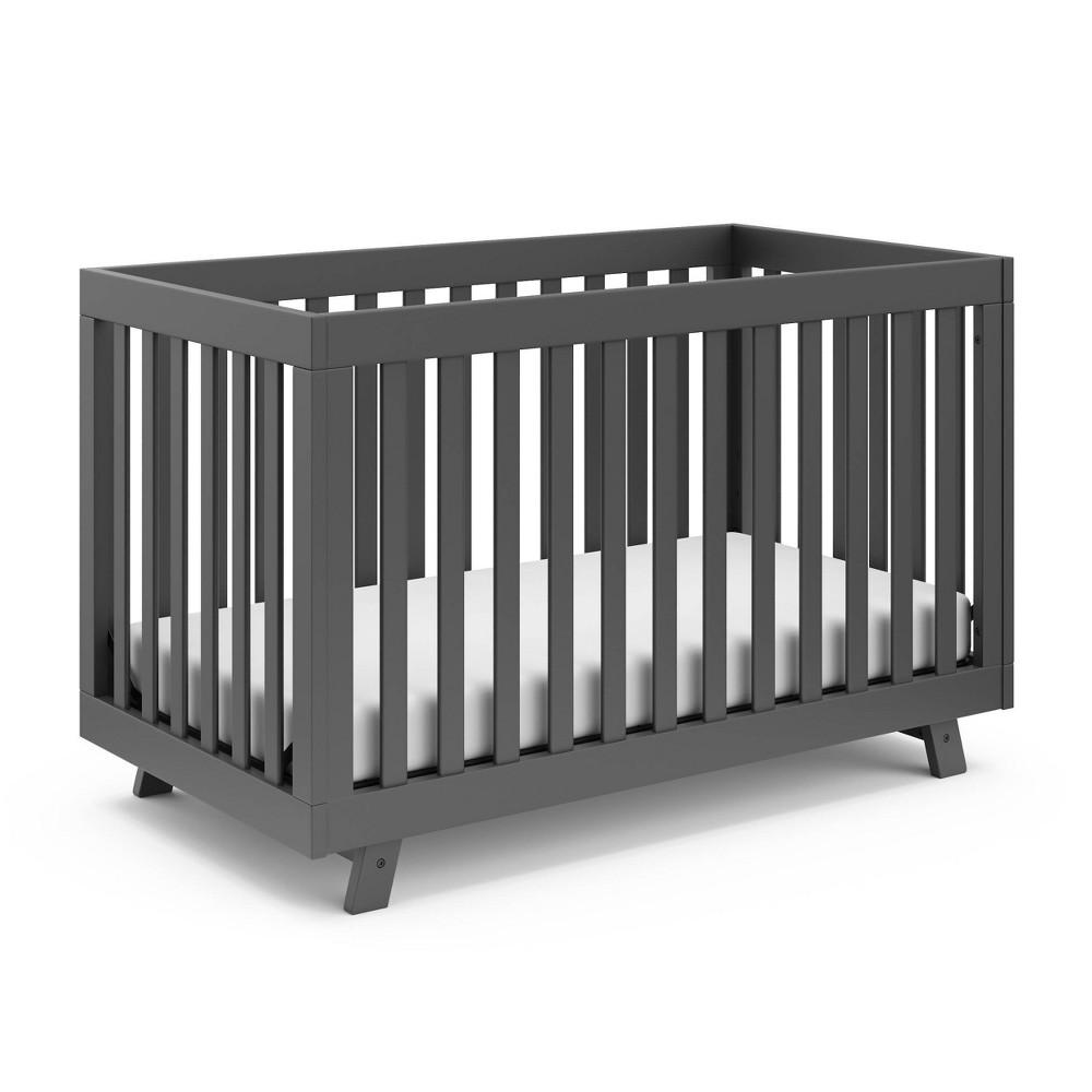 Storkcraft Beckett 3-in-1 Convertible Crib - Gray Discounts
