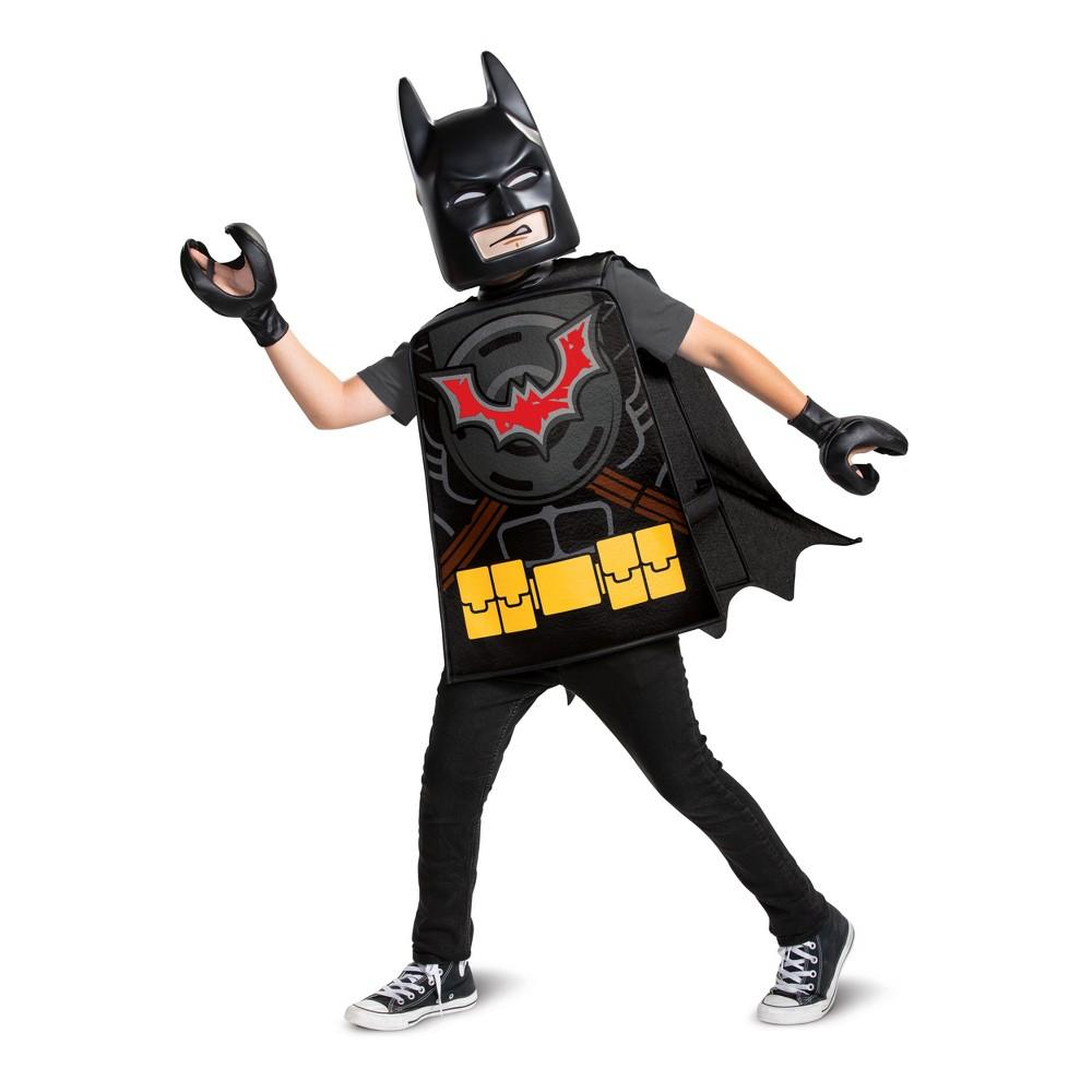 Lego Movie 2 Batman Basic Child Costume One Size, Boy's, Multi-Colored