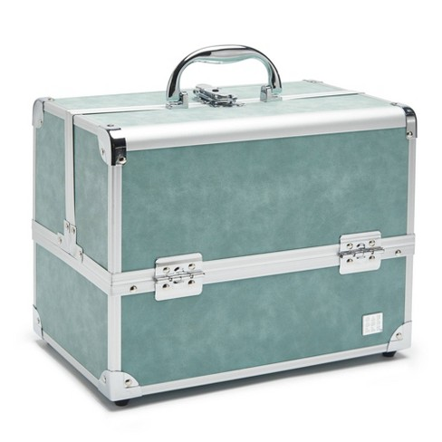 Caboodles Medium Train Case - Green - image 1 of 2