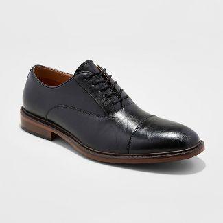 Men's Joseph Captoe Dress Shoe - Goodfellow & Co™ Black 8