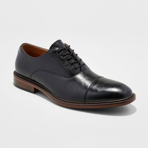 30bb6abb Men's Joseph Captoe Dress Shoe - Goodfellow & Co™ Black 11