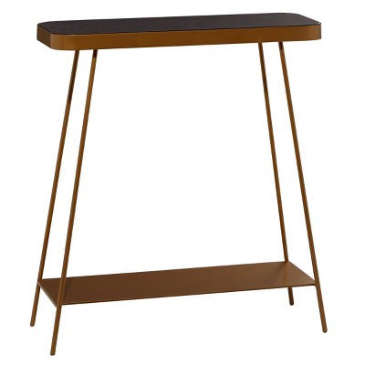 Modern Metal Console Table - Olivia & May