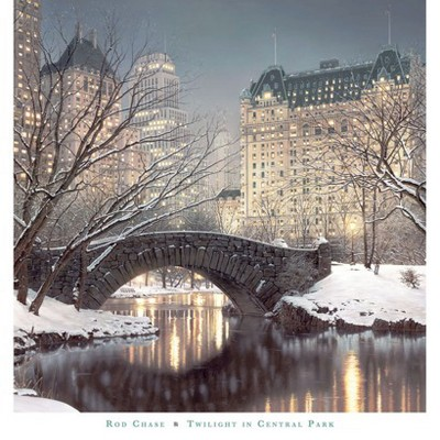 Art.com - Twilight in Central Park Art Print