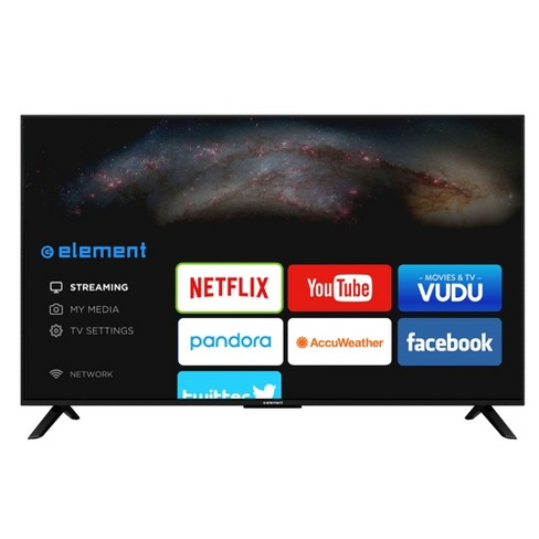 "Element 50"" Smart 1080p 60Hz LED HDTV - Black (ELST5016S) - image 1 of 7"