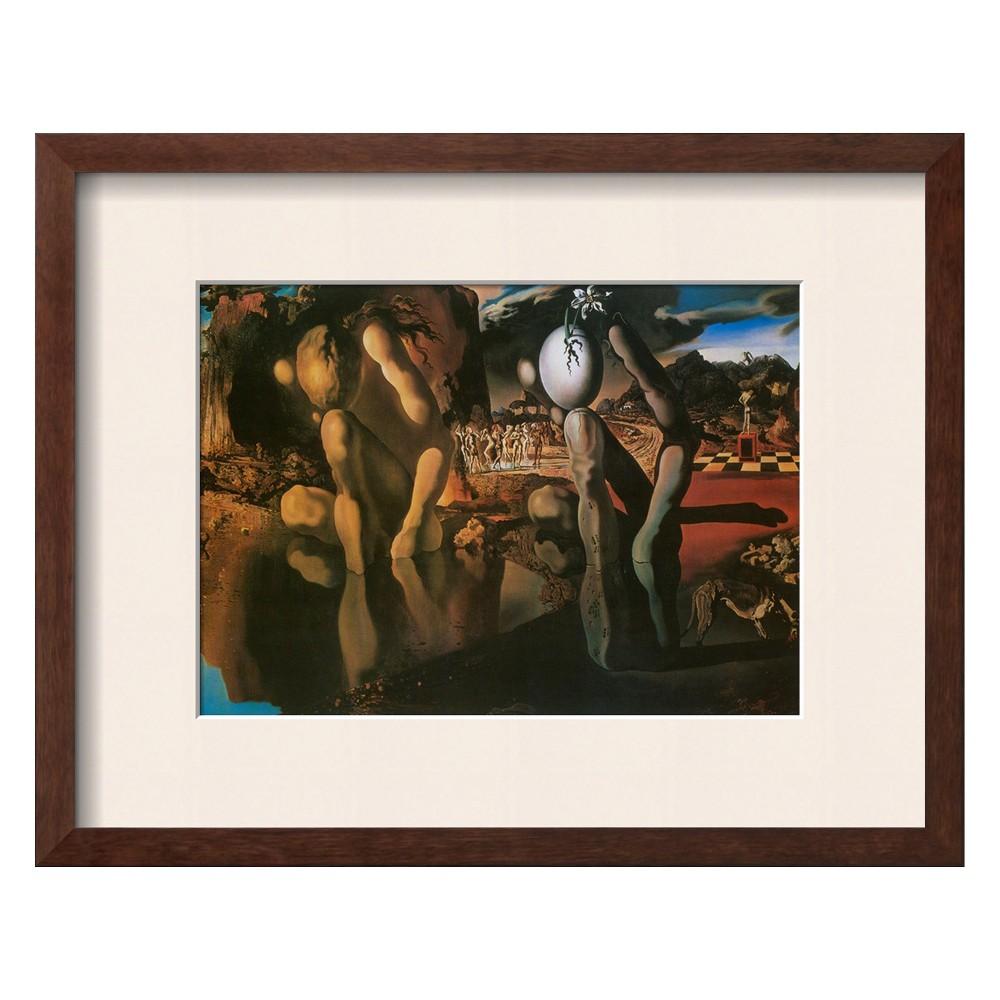 Art.com - The Metamorphosis of Narcissus, c.1937 Framed Art Print, Multi-Colored
