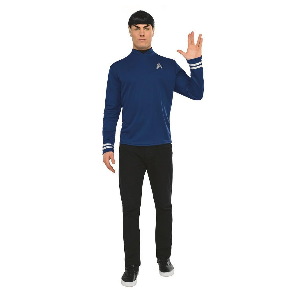 Best Buy Men Star Trek Spock Halloween Costume S Multicolored