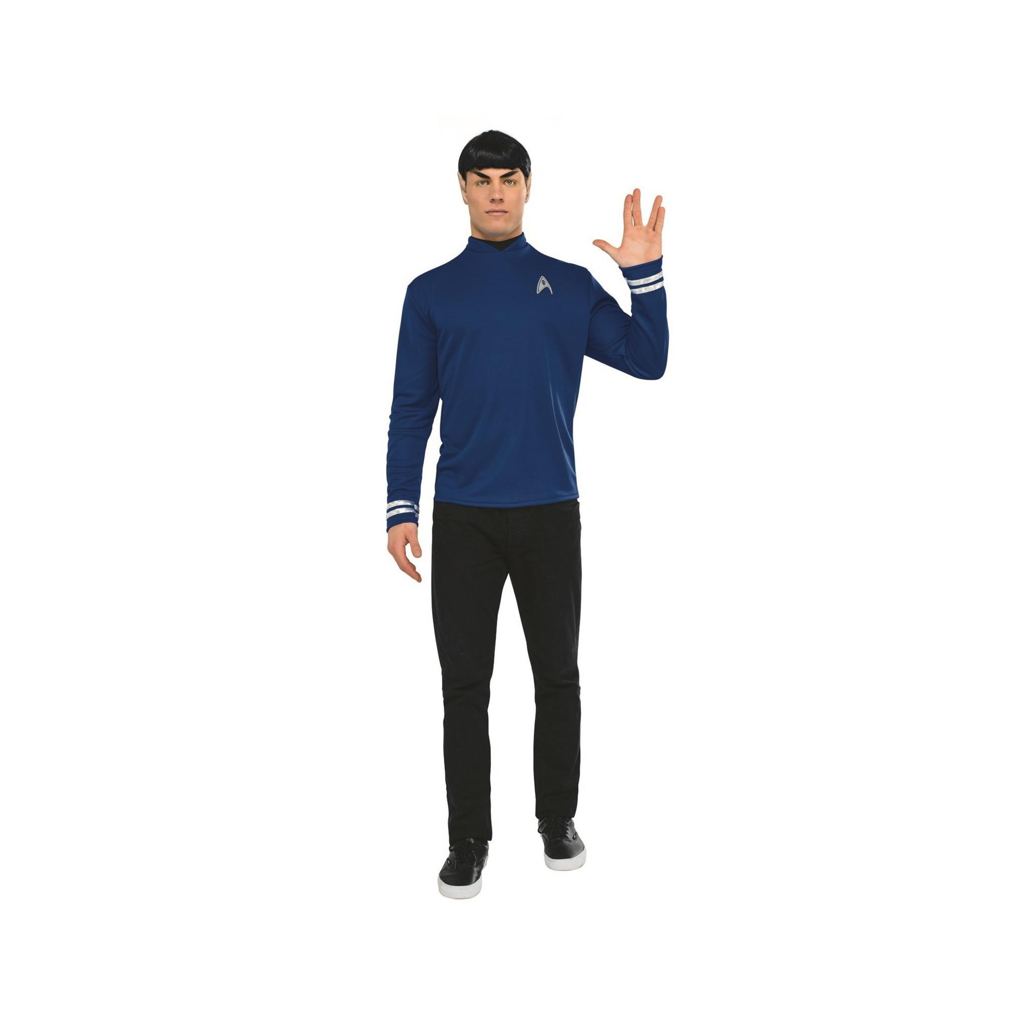 Men's Star Trek Spock Halloween Costume S, Multicolored