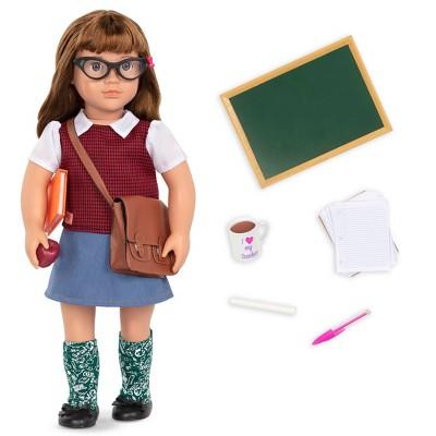 "Our Generation 18"" School Teacher Doll - Taylor"